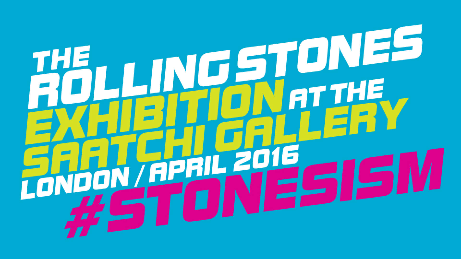 rolling stones exhibitionism messaging communications design
