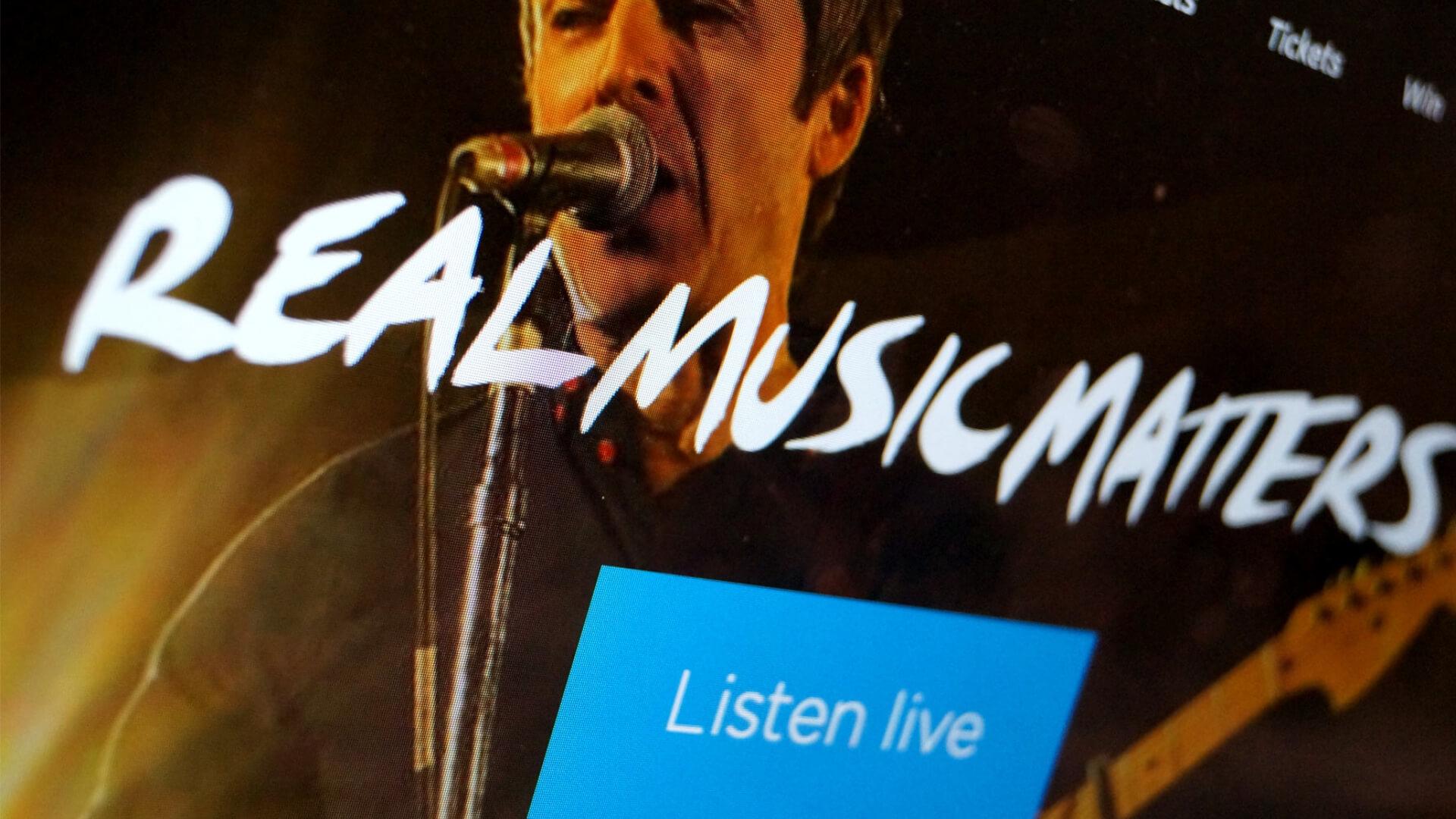 Absolute radio live event design