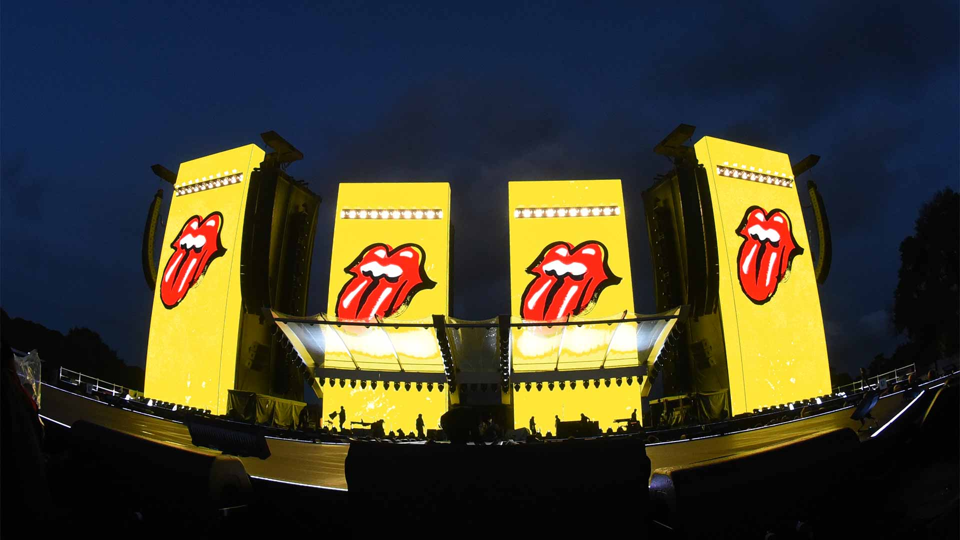rolling stones tour identity stage graphics no filter