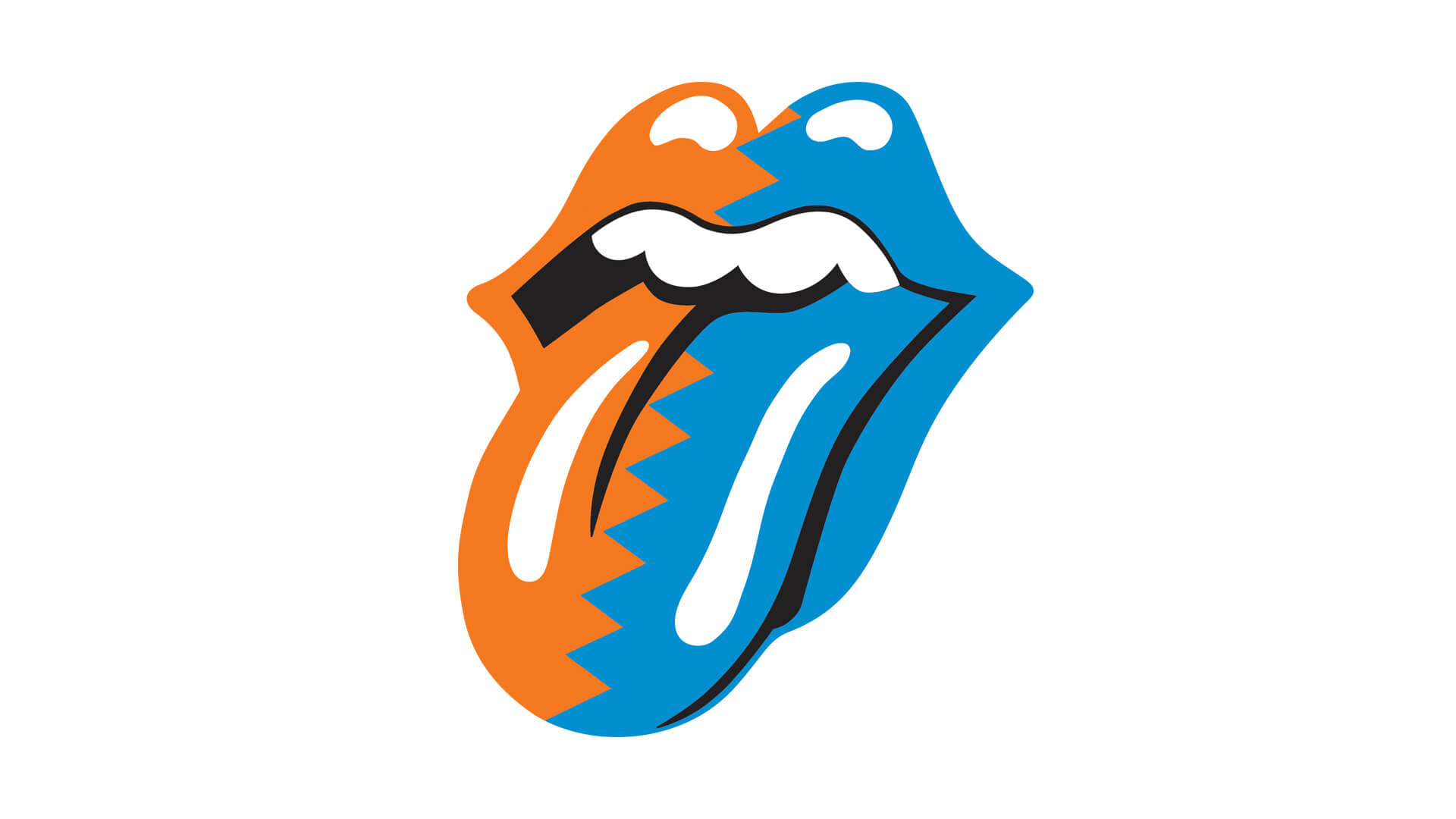 rolling stones steel wheels tongue design tour identity