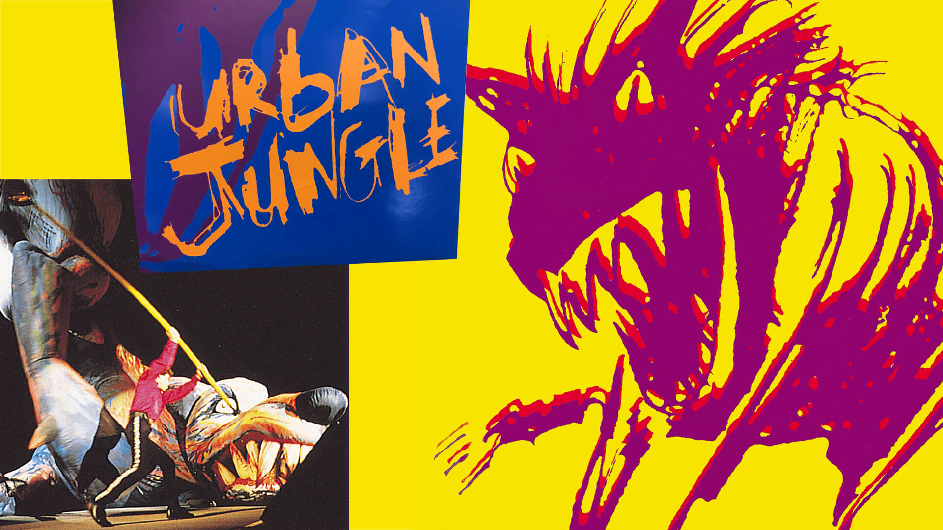 rolling stones urban jungle stage graphics and promotional images