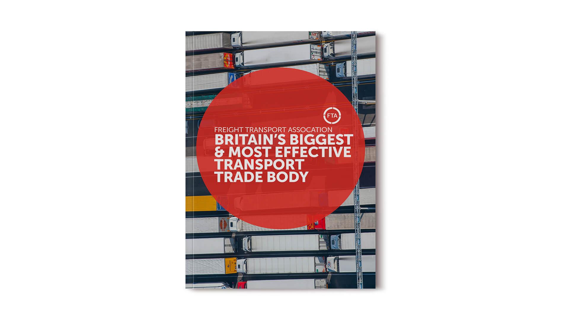 Freight transport association fta internal engagement campaign brochure