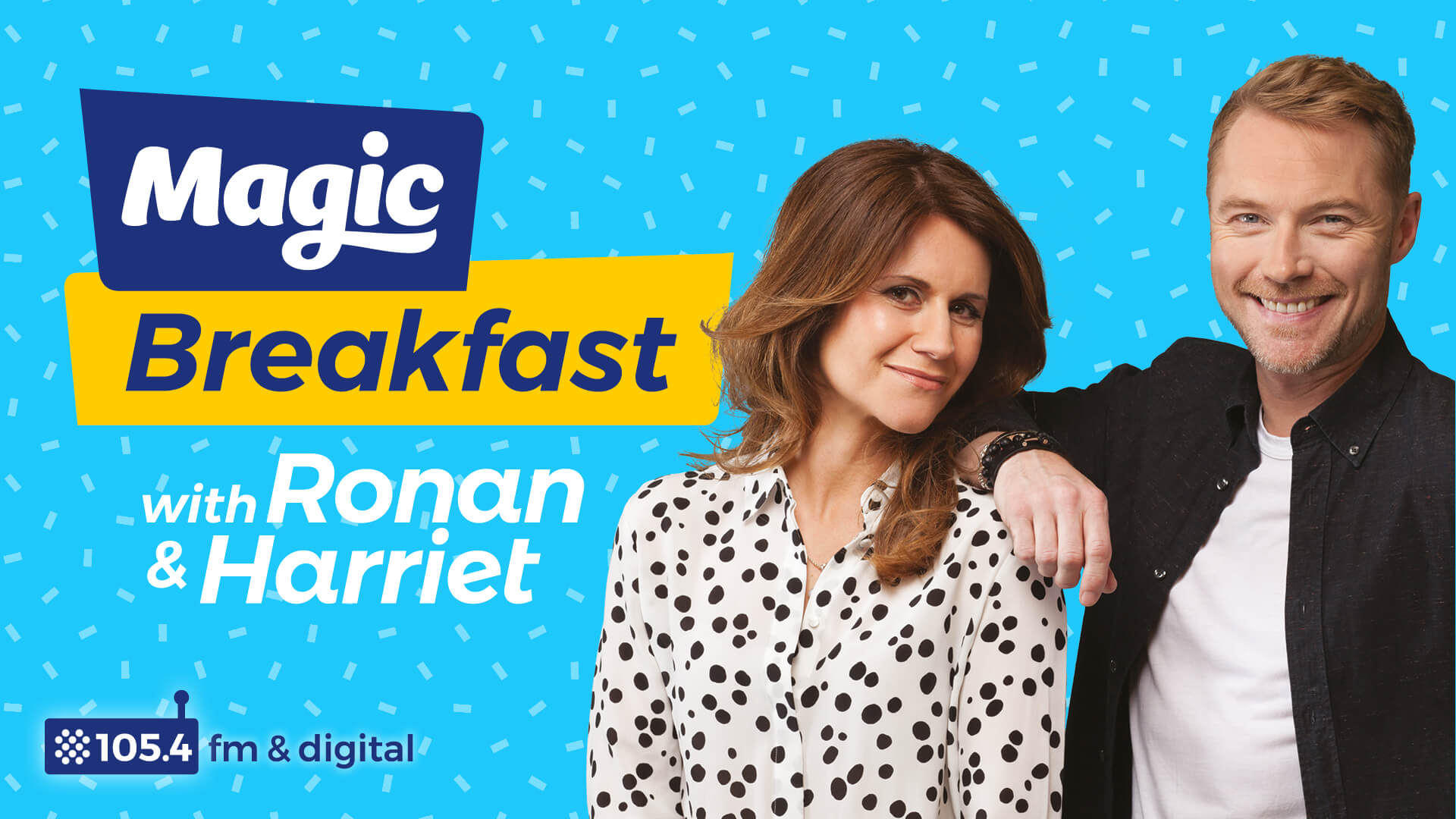 Magic radio breakfast show launch advertsing