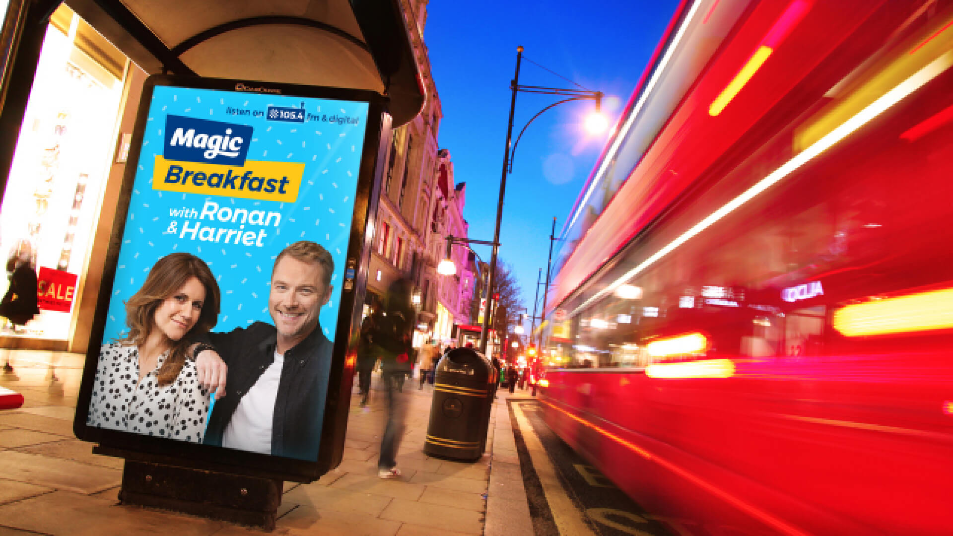 Magic radio brand launch new show