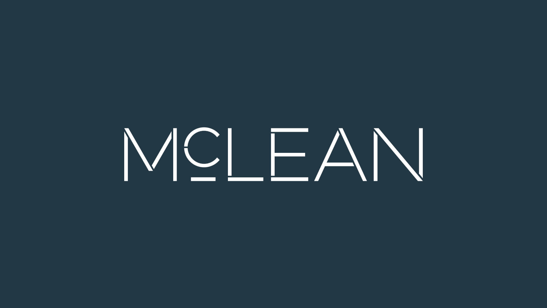 mclean group brand identity design