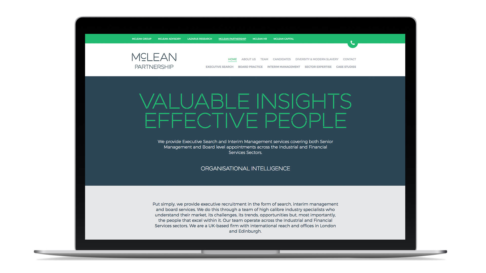 mclean group copywriting messaging positioning