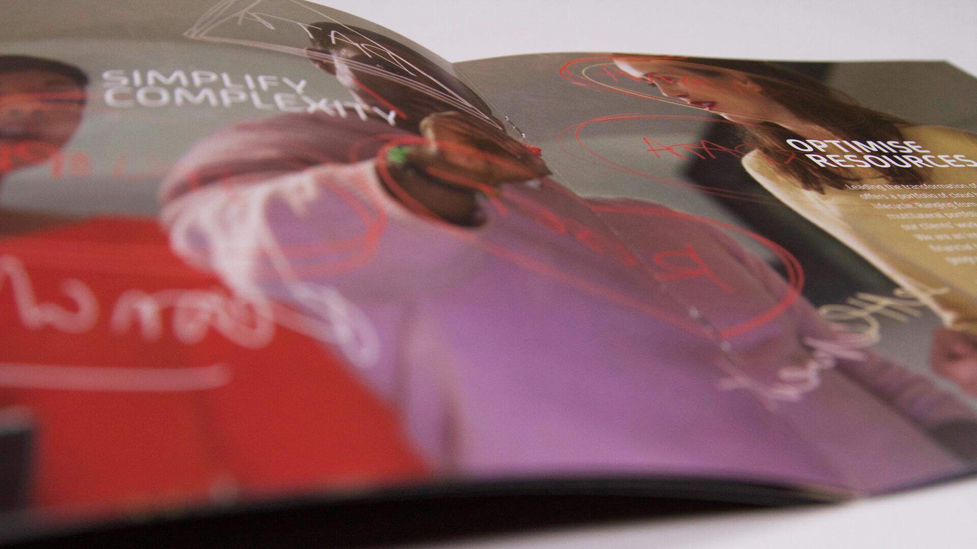 nex brand launch brochure internal engagement