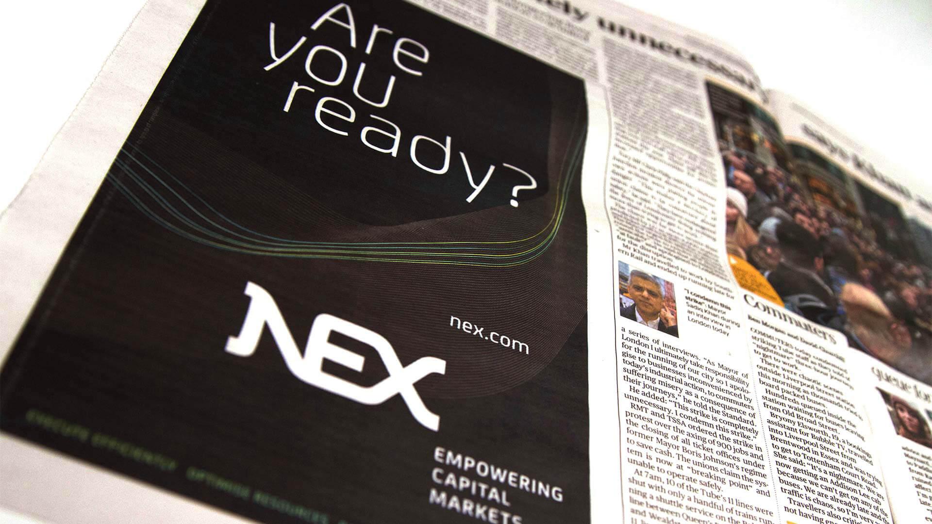 nex brand launch campaign