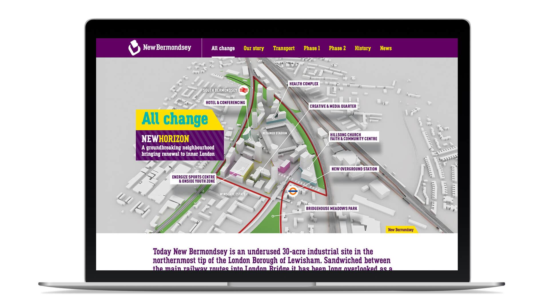 new bermondsey lobbying documents brochure design