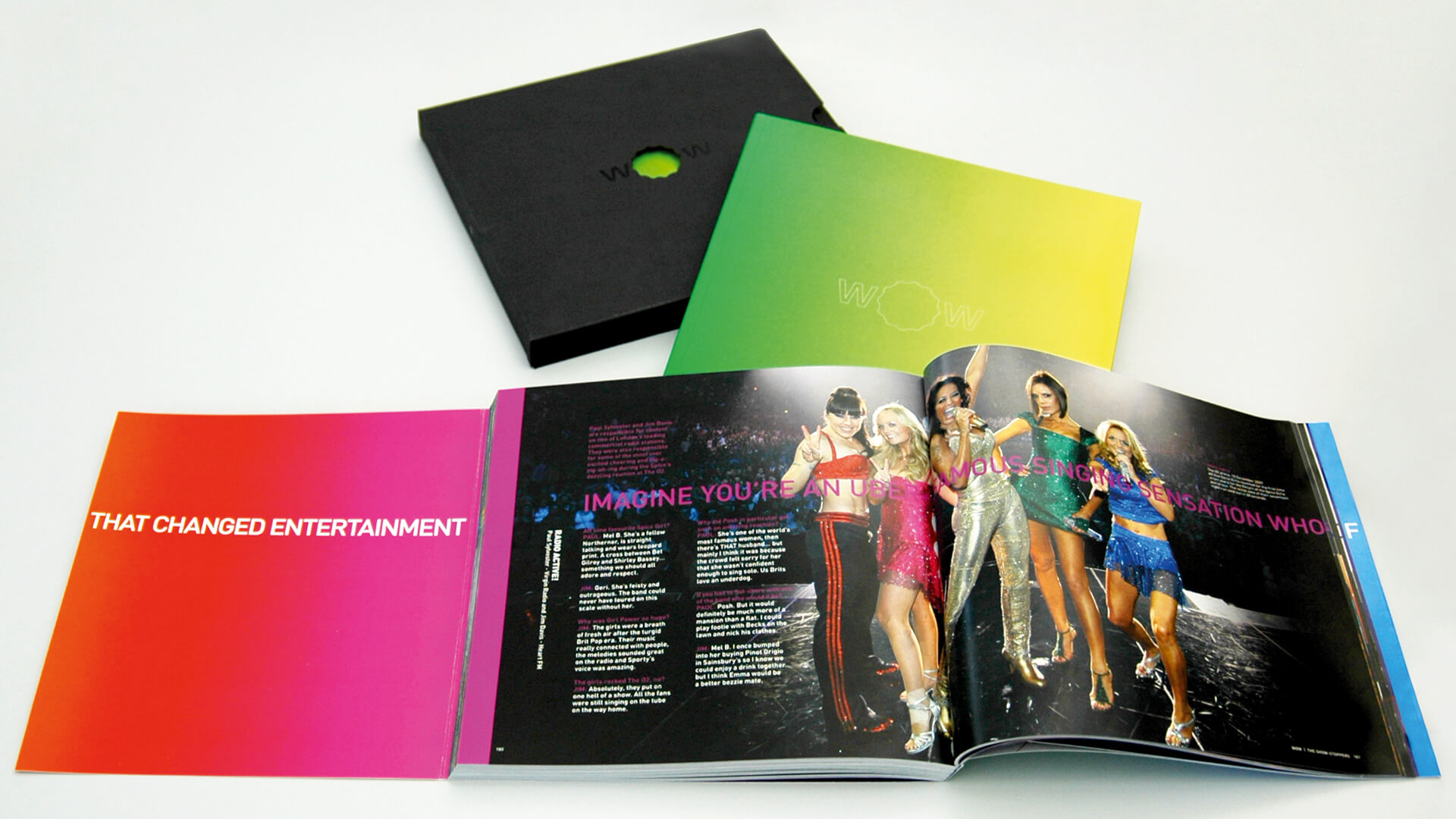 the o2 one year anniversary book internal engagement
