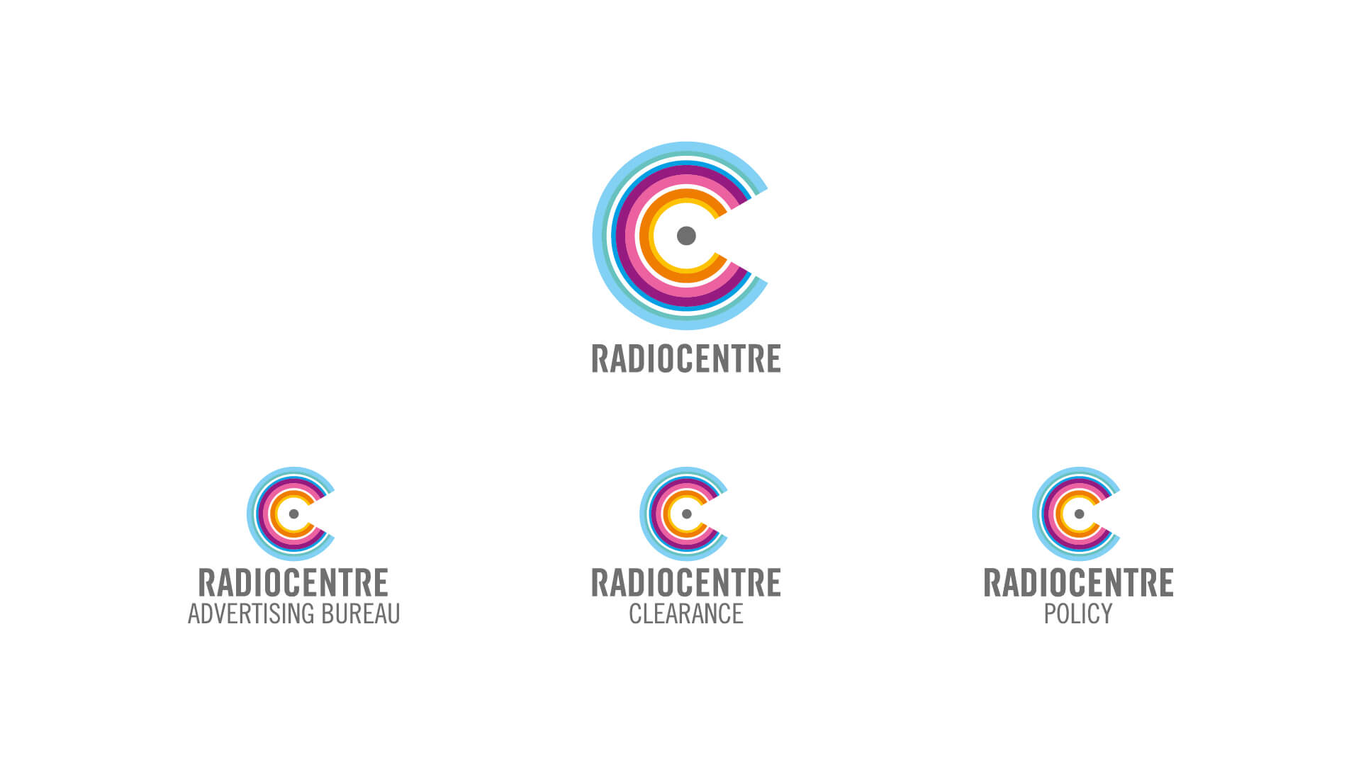radiocentre brand architecture strategy