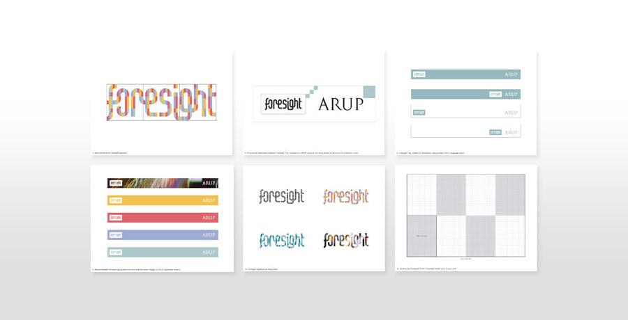 Arup foresight logo design