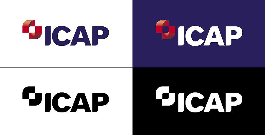 icap logo design identity