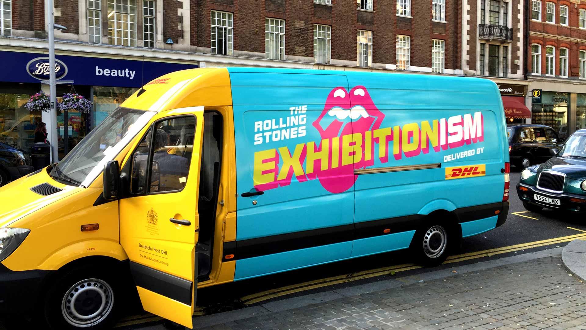 rolling stones exhibitionism identity sposnor co-branding