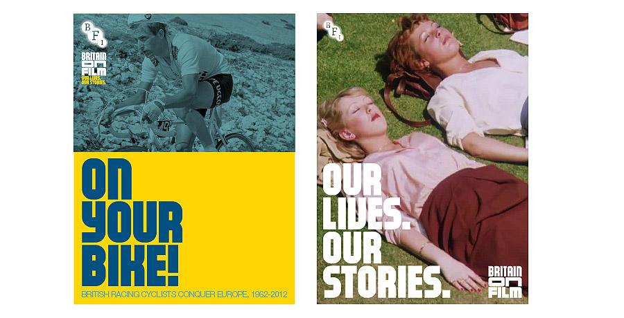 BFI britain on film brand identity