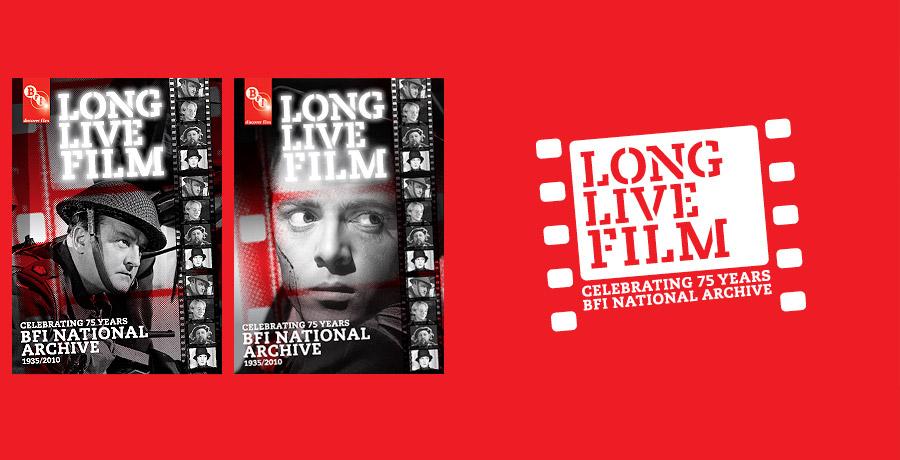 BFI long live film brand identity
