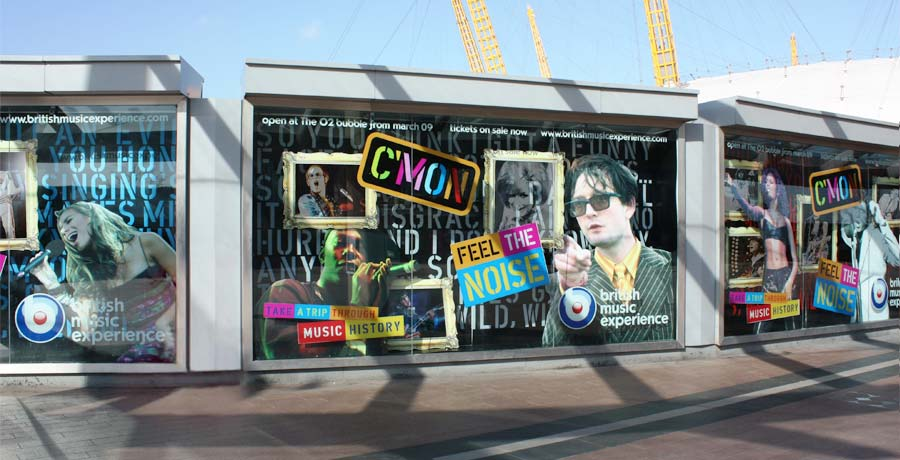 British music experience poster campaign