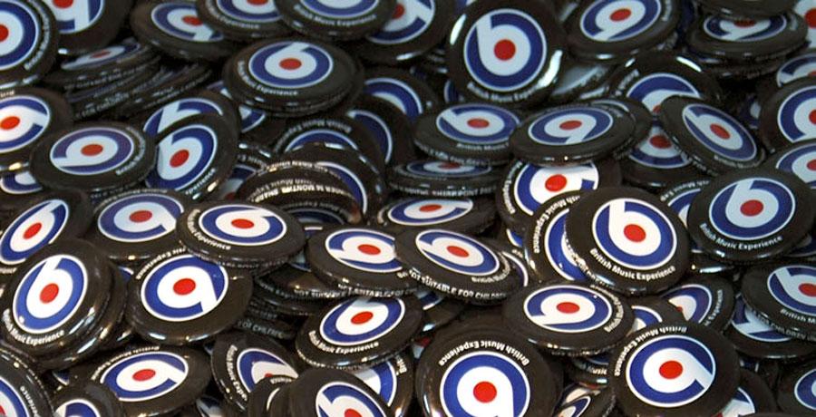 BME merchandising badges