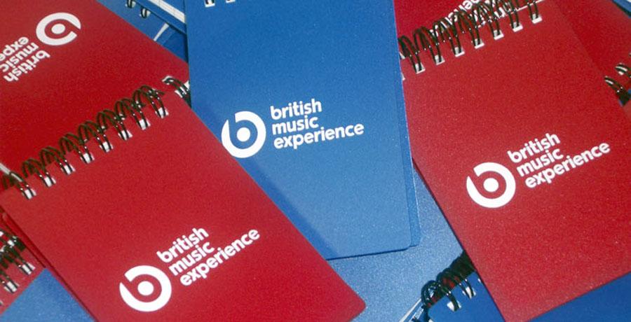 British music experience merchandising