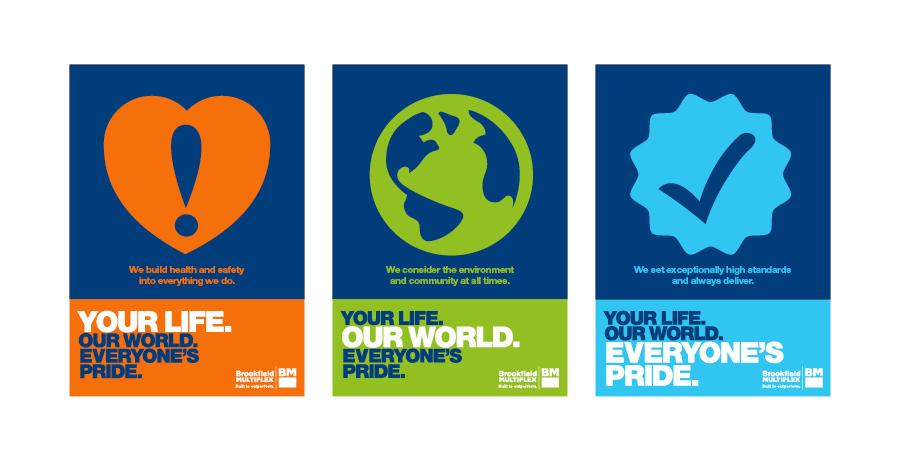 bookfield staff awareness branding