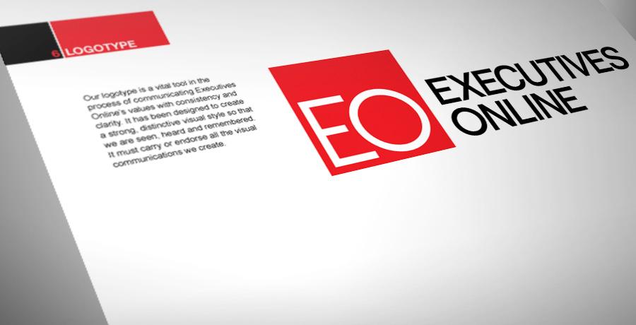 Executives Online logo design