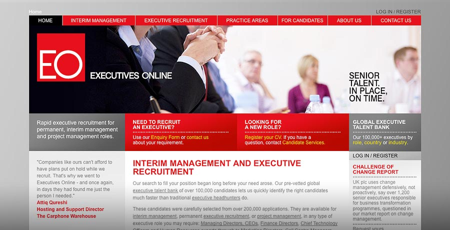 Executives Online rebrand