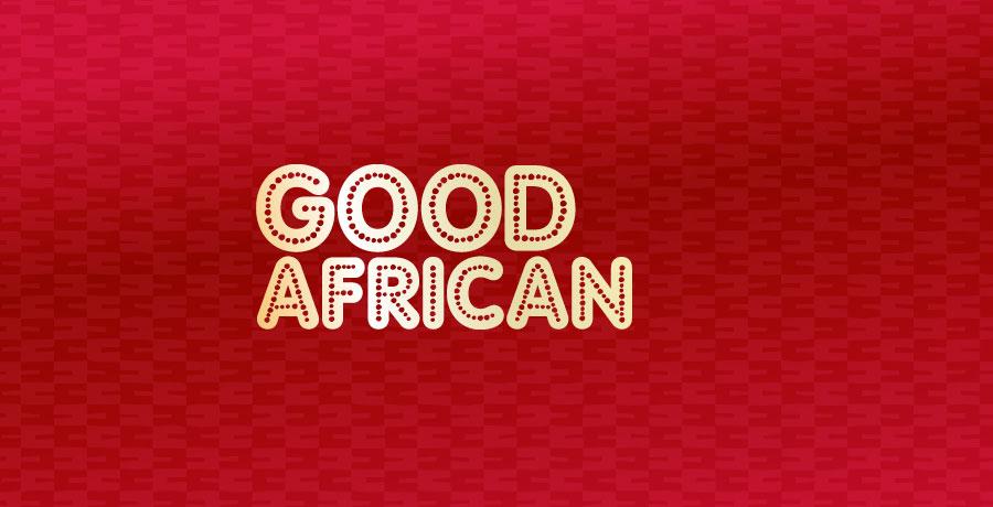 good african coffee logo design
