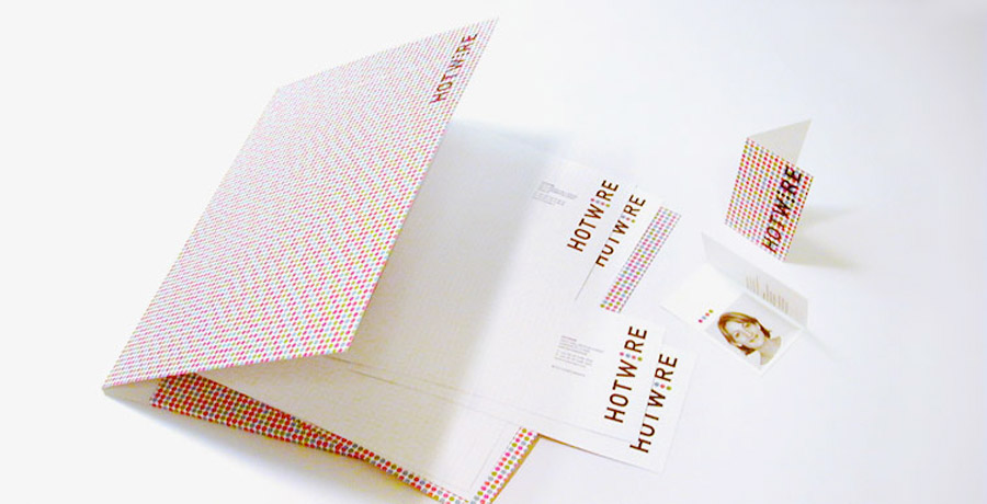 Hotwire pr brand implementation stationery