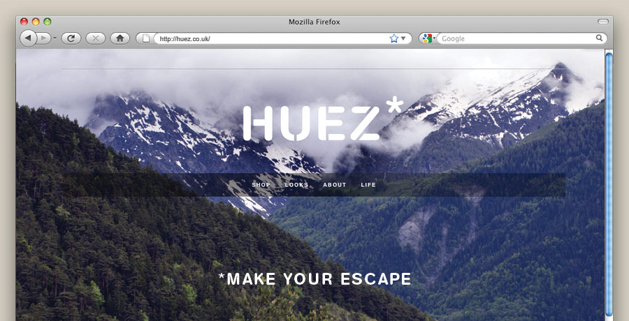 Huez brand naming brand messaging