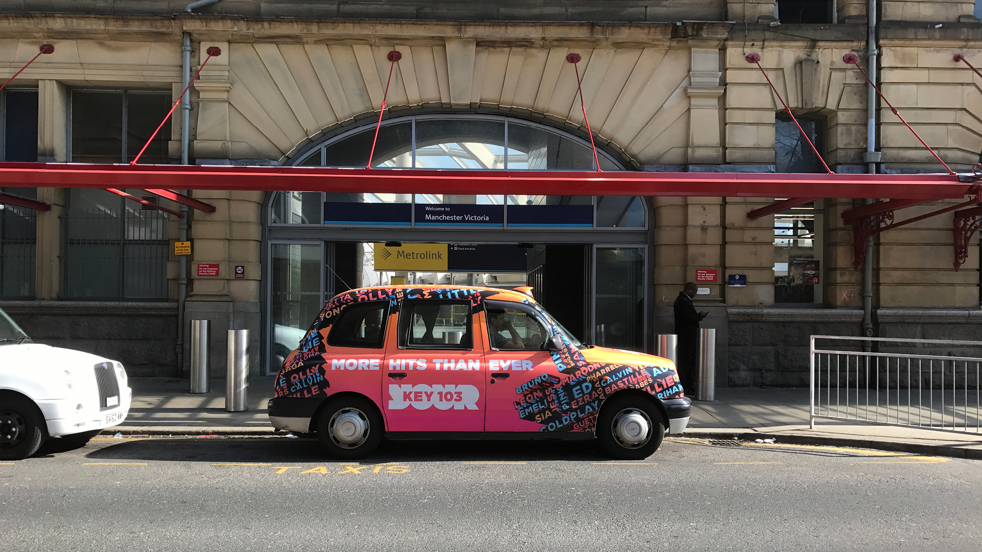 key 103 taxi advertising campaign