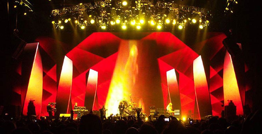 Led Zeppelin stage design 35