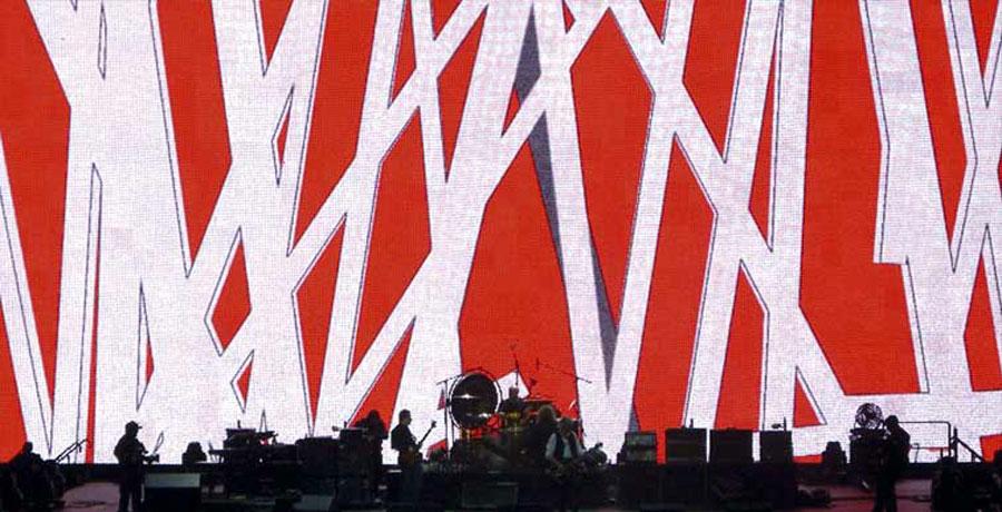 Led Zeppelin stage design 45
