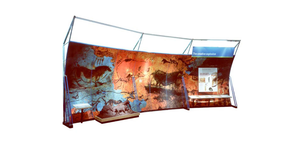 natural history museum exhibition installation design