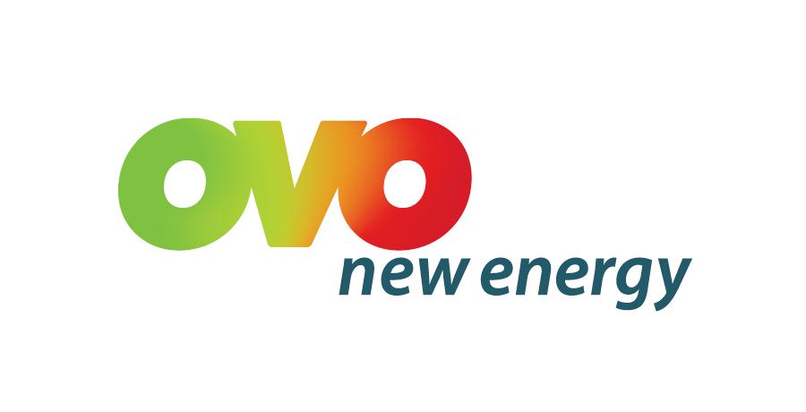 ovo energy brand identity logo design