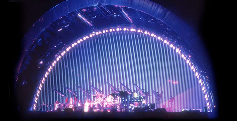 pink floyd division bell stage graphics