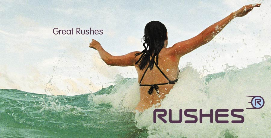 rushes brand positioning