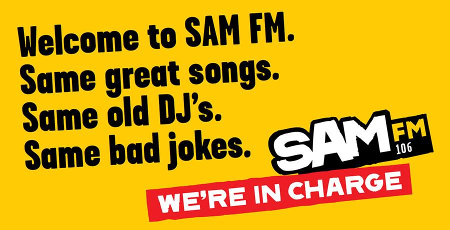 Sam FM brand naming