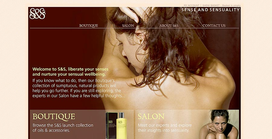 sense and sensuality brand naming brand identity