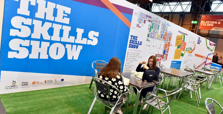 skills show exhibition design