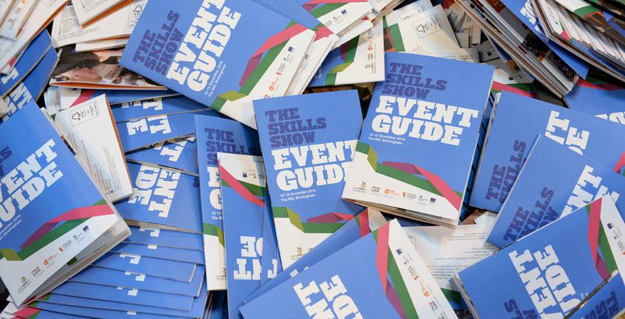 skills show event guide design