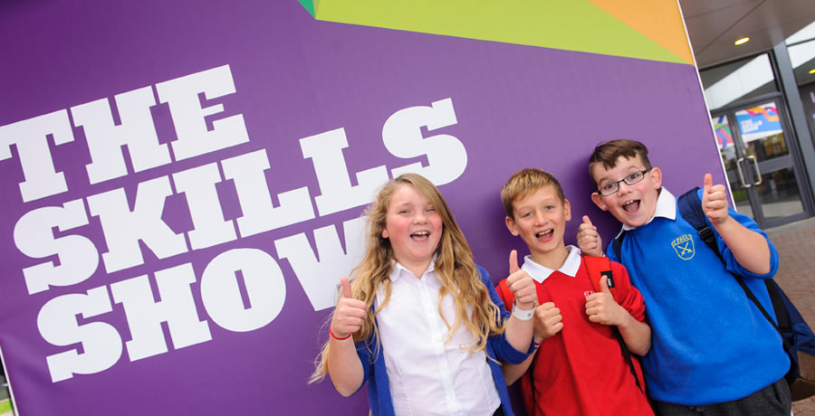 skills show logo design