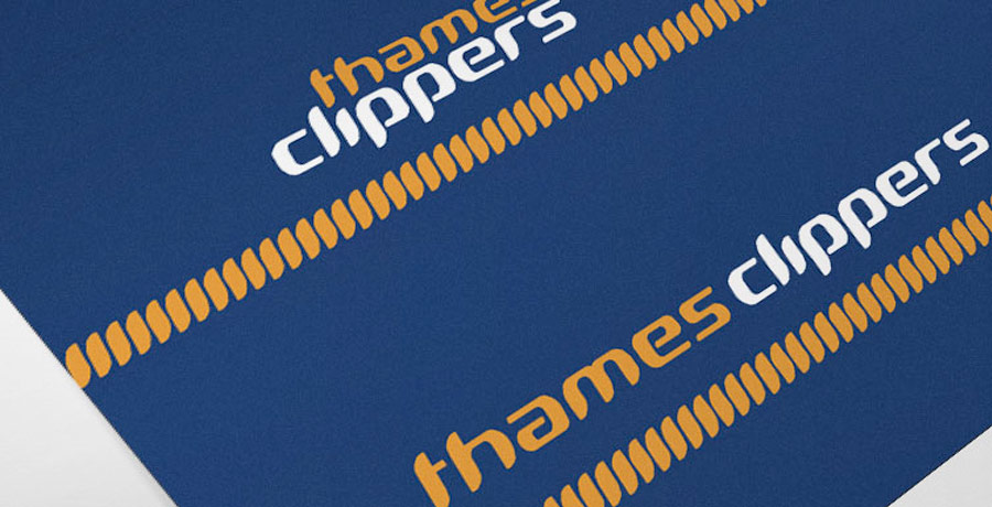 thames clippers brand identity