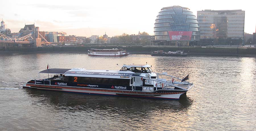 thames clippers rebranding