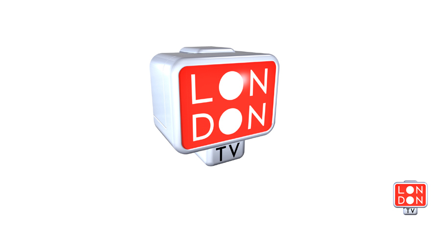 visit london logo design TV ident