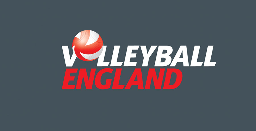 volleyball england brand identity