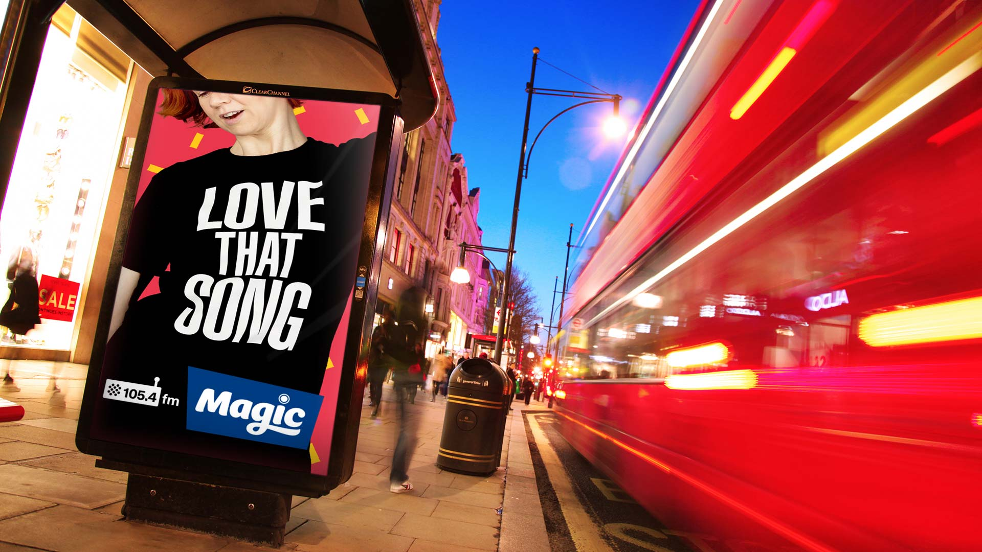 Magic radio national advertising