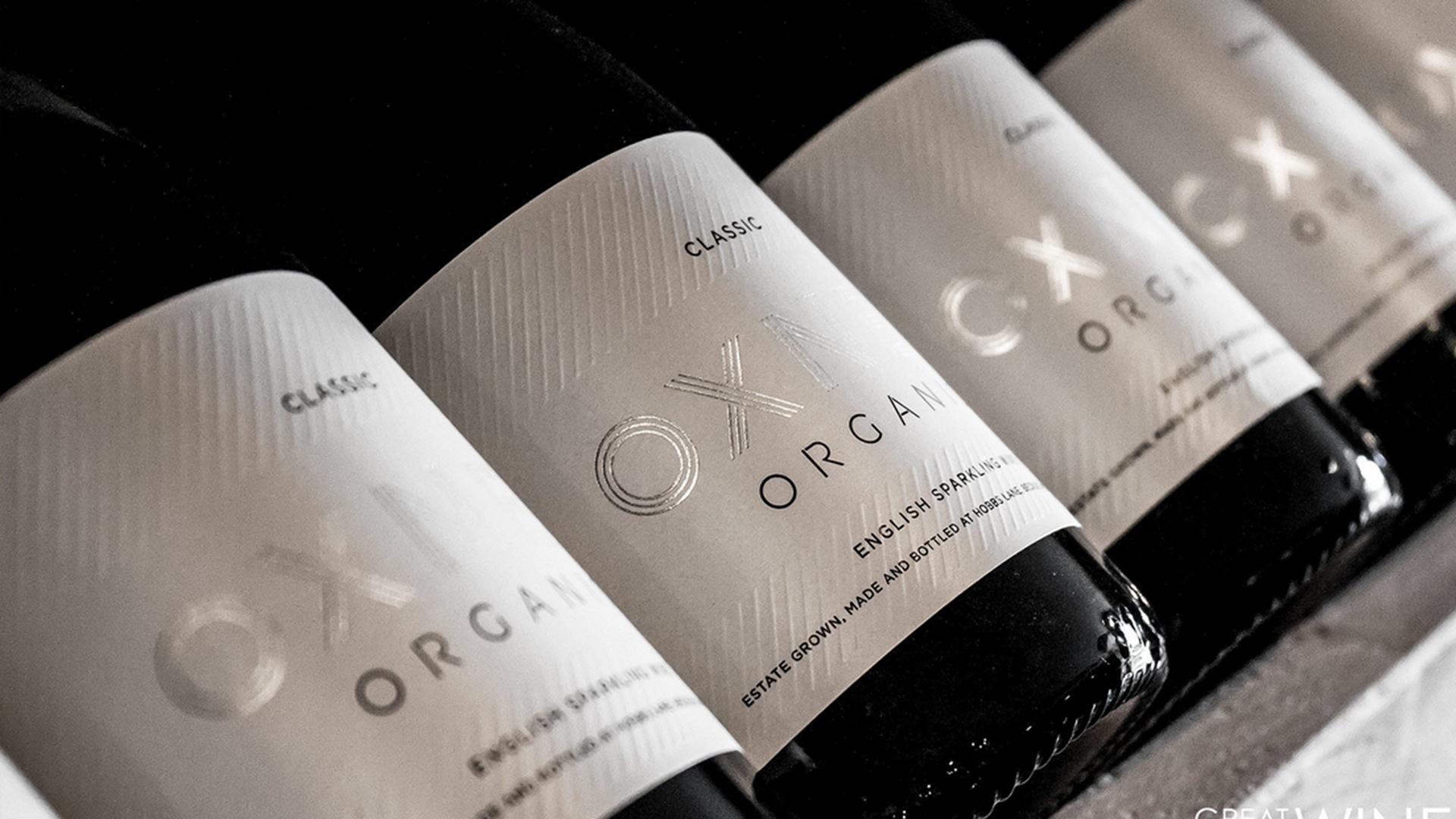 oxney organic estate logo corporate identity label design