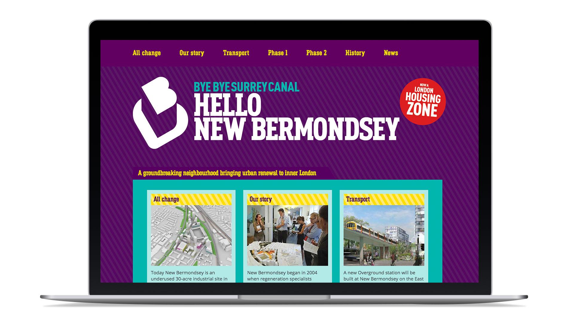 new bermondsey logo design brand identity brand naming messaging