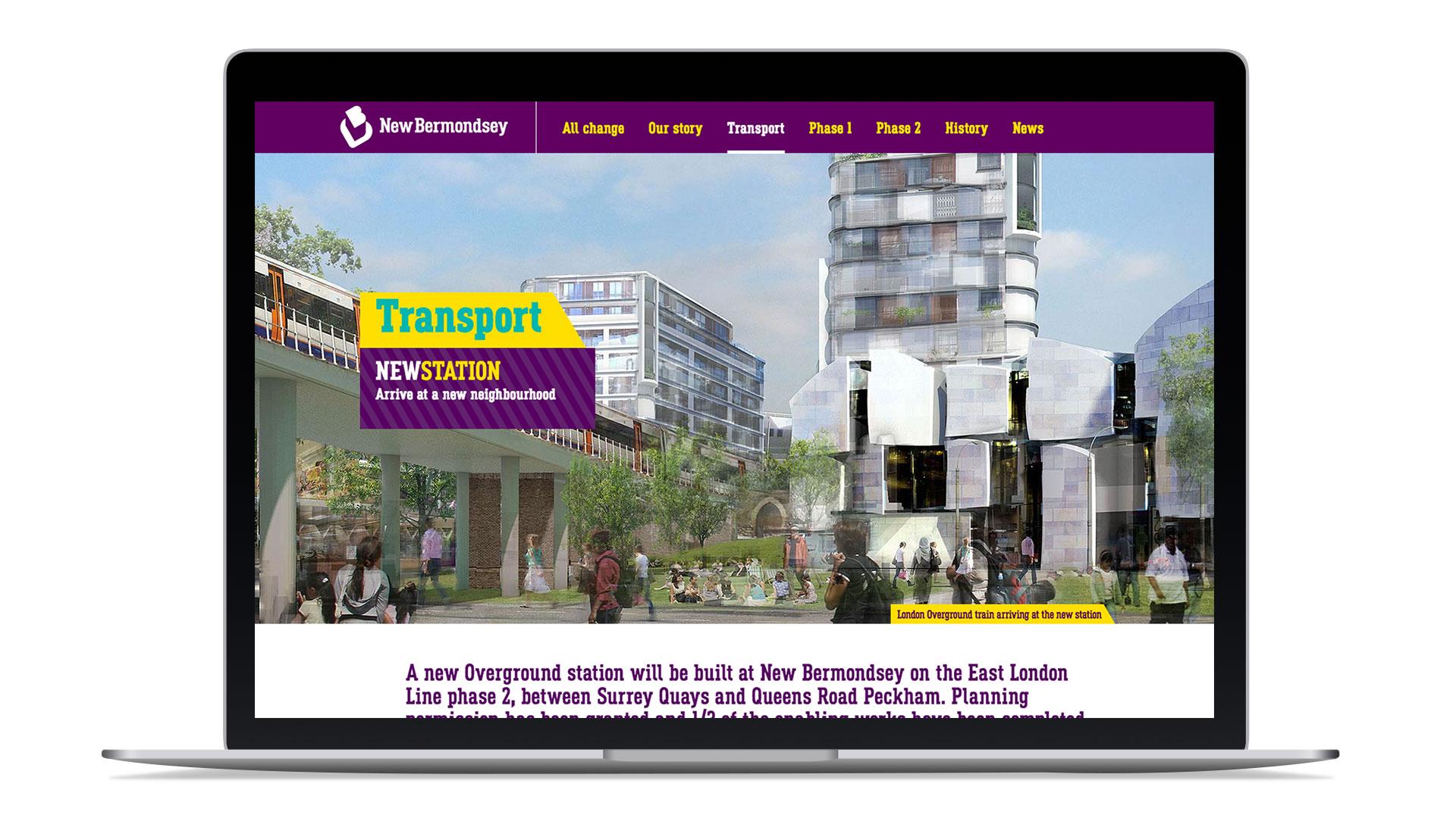 new bermondsey website design build copywrting