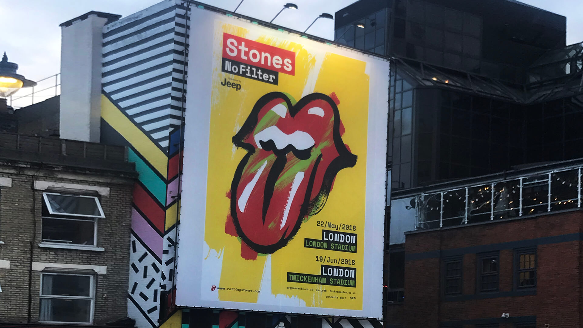 The Rolling Stones Brand Identities And Marketing Campaigns